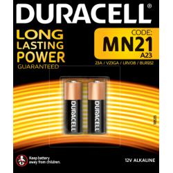 Duracell 2x batterie MN21,...