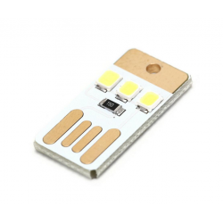 Usb card led 0,2 watt luce...