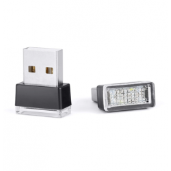 Mini usb led light colore...
