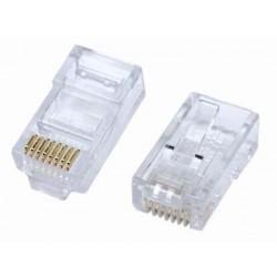 10 Pz connettore plug RJ45...