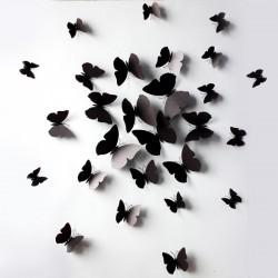 Farfalle 3D con magnete ed...