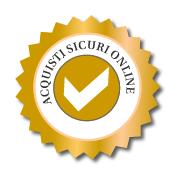 Acquisti sicuri con sistemi di pagamento certificati: Paypal, Bonifico bancario, Contrassegno